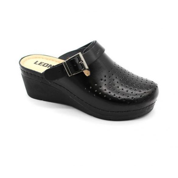 Leon Comfort női papucs-1000 Fekete