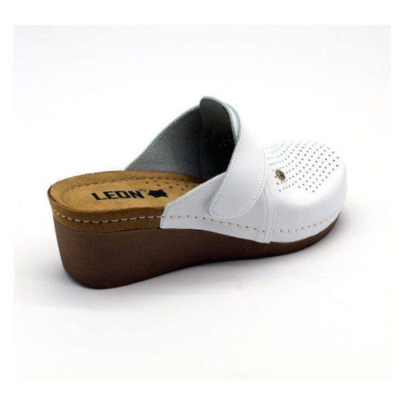Leon Comfort női papucs-1001 Fehér
