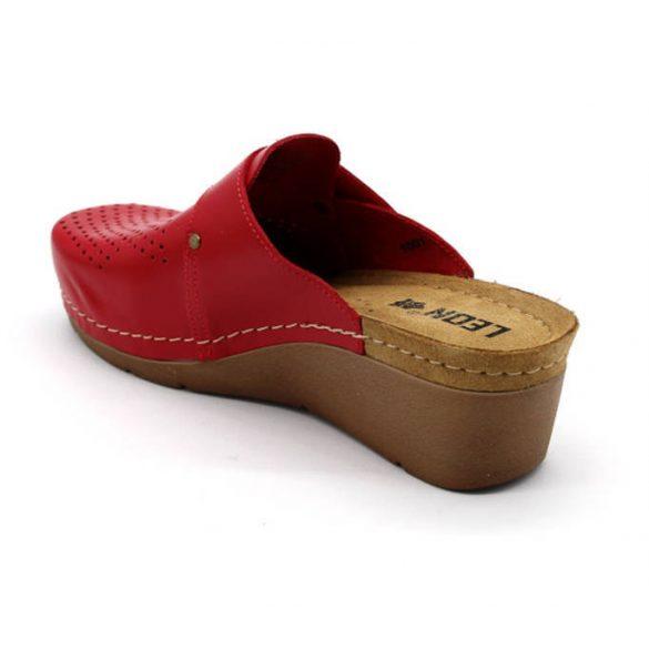 Leon Comfort női papucs-1001 Piros