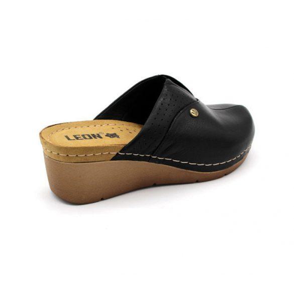 Leon Comfort női papucs-1002 fekete