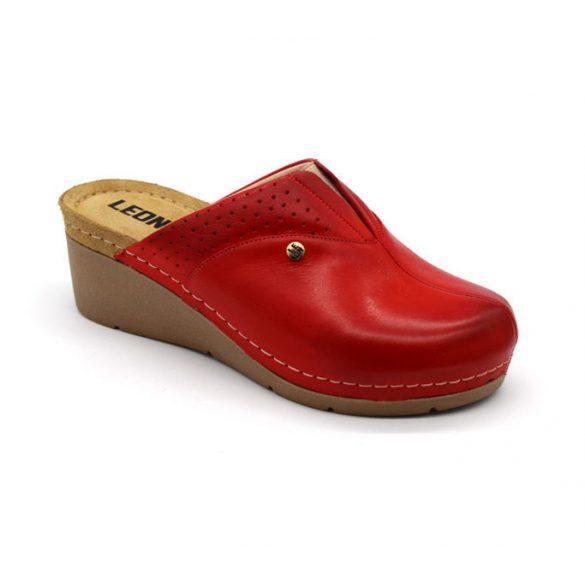 Leon Comfort női papucs-1002 Piros