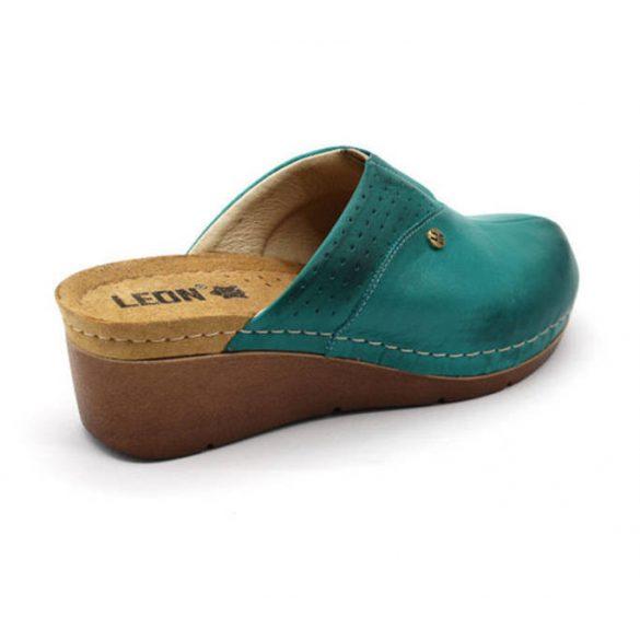 Leon Comfort női papucs-1002 Türkiz