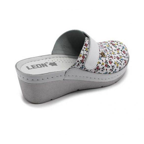 Leon Comfort női papucs-1003 Citrom-virag