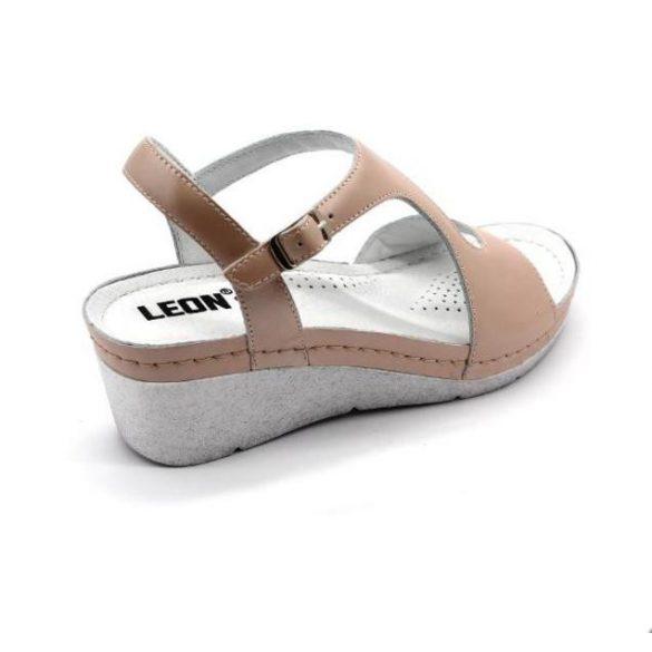 Leon Comfort női szandál-1050 Púder