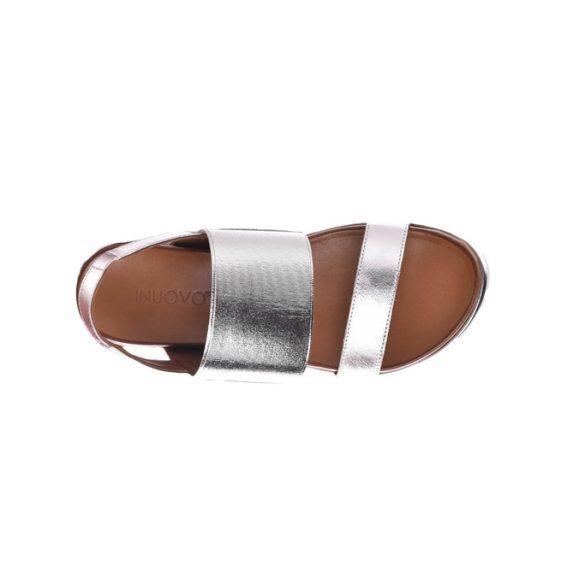 Inuovo női szandál-110006 silver