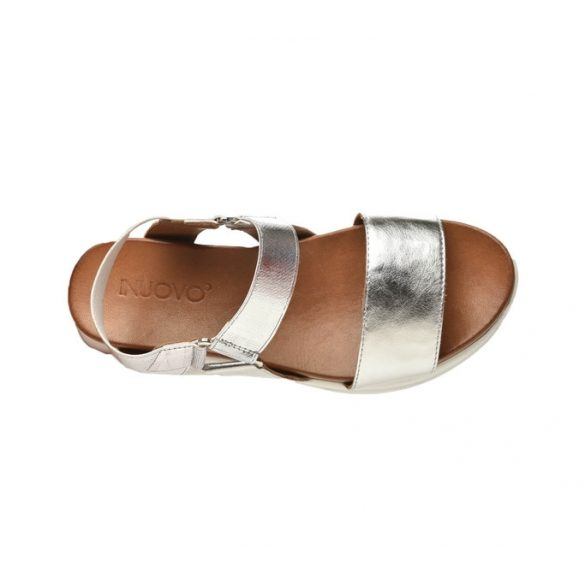 Inuovo női szandál-114015 Silver