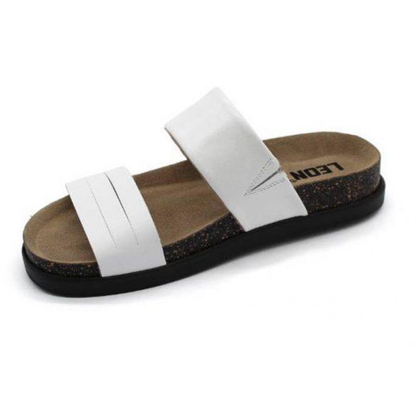 Leon Comfort női papucs-1206 fehér