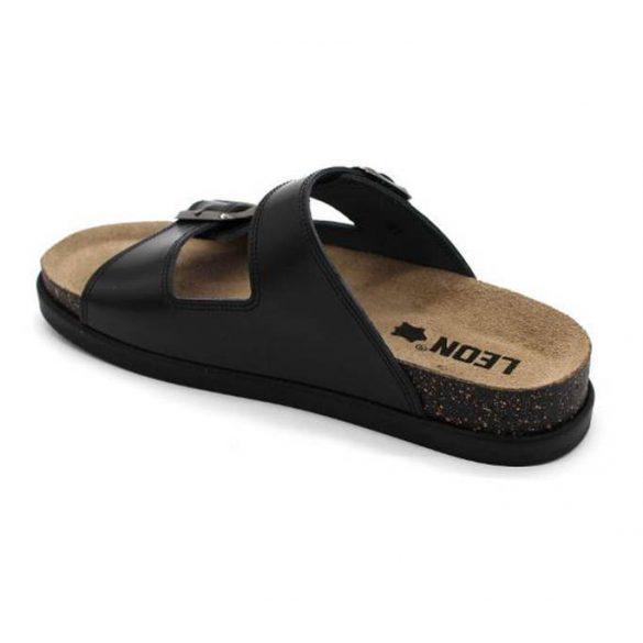 Leon Comfort női papucs-1220 Fekete