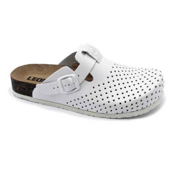 Leon Comfort női papucs-1250 Fehér