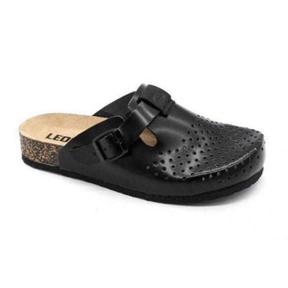 Leon Comfort női papucs-1250 Fekete