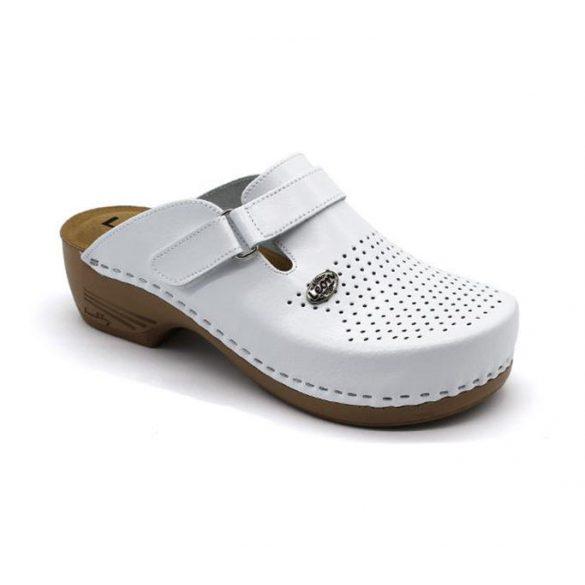 Leon Comfort női papucs-159 Fehér