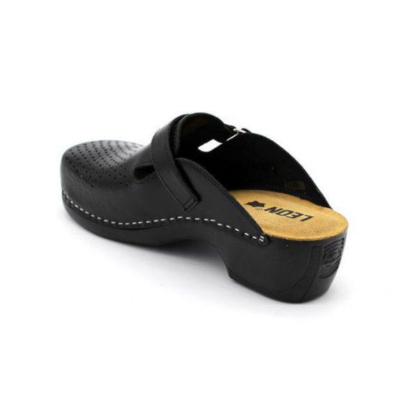 Leon Comfort női papucs-159 Fekete