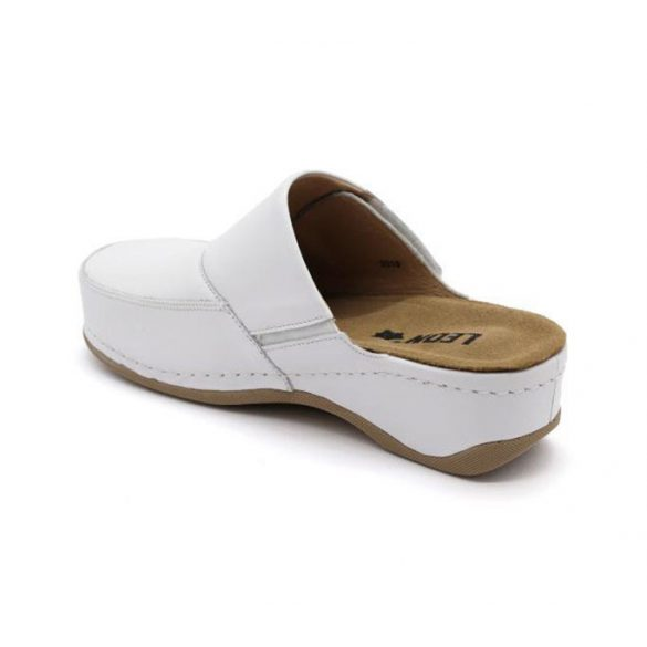 Leon Comfort női papucs-2019 Fehér