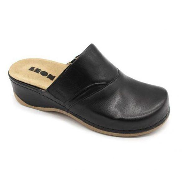 Leon Comfort női papucs-2019 Fekete