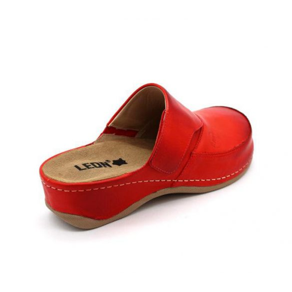 Leon Comfort női papucs-2019 Piros