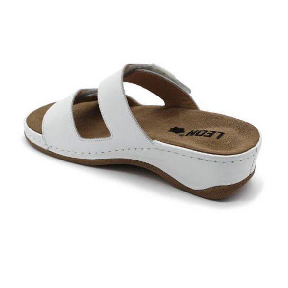 Leon Comfort női papucs-2020 fehér