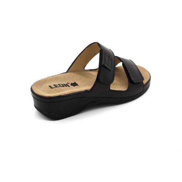 Leon Comfort női papucs-2020 fekete