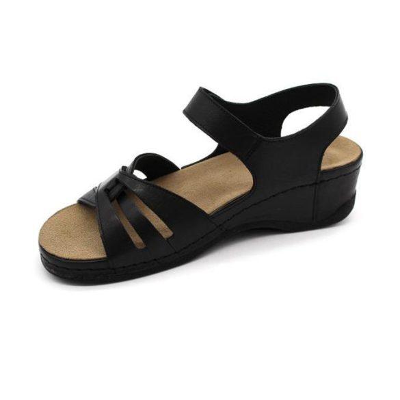 Leon Comfort női szandál-2021 Fekete