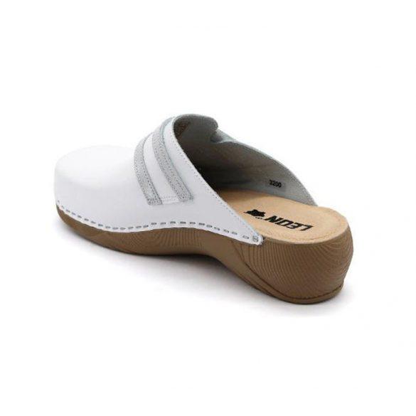 Leon Comfort női papucs-3200 Fehér