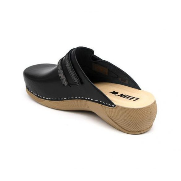Leon Comfort női papucs-3200 Fekete