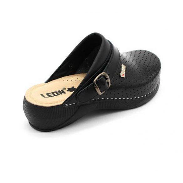 Leon Comfort női papucs-3300 Fekete