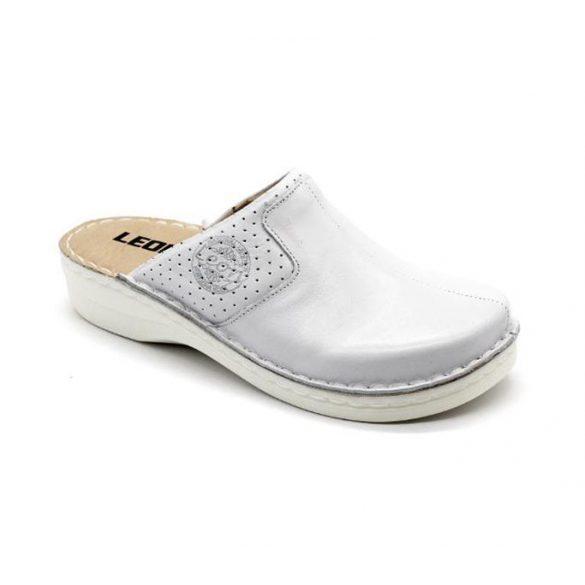 Leon Comfort női papucs-360 Fehér