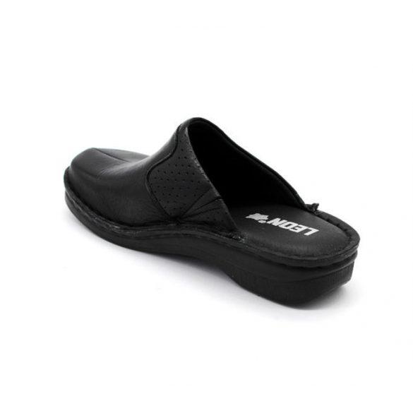 Leon Comfort női papucs-360 Fekete