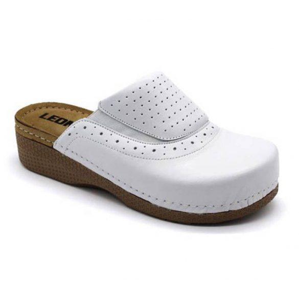 Leon Comfort női papucs-400 Fehér