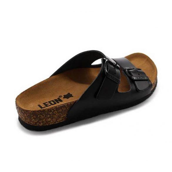 Leon Comfort női papucs-4010 Fekete