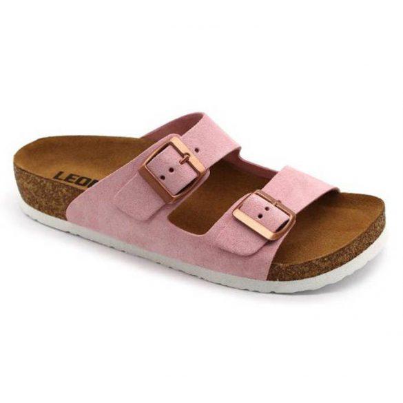 Leon Comfort női papucs-4010 Rozsa