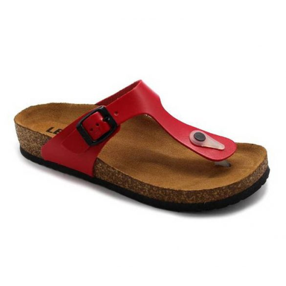 Leon Comfort női papucs-4080 Piros