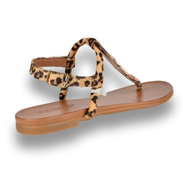 Inuovo női szandál-5292 Classic Leopard