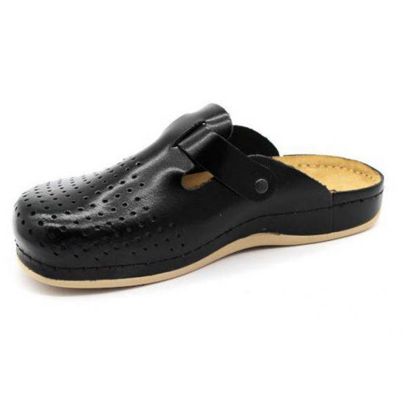 Leon Comfort férfi papucs-700 Fekete