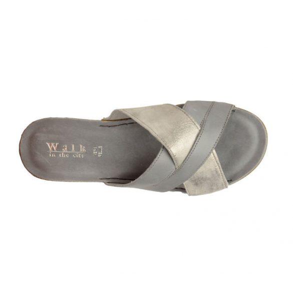 Walkin the city női papucs-8082_33880 Cement
