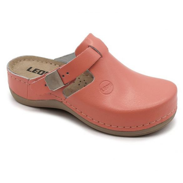 Leon Comfort női papucs-900 Korall