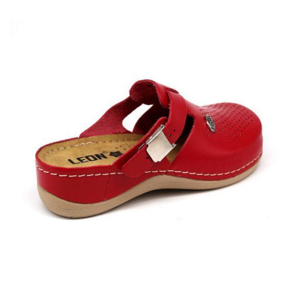 Leon Comfort női papucs-900 Piros