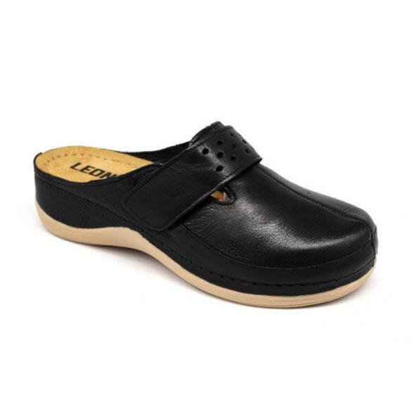 Leon Comfort női papucs-902 Fekete