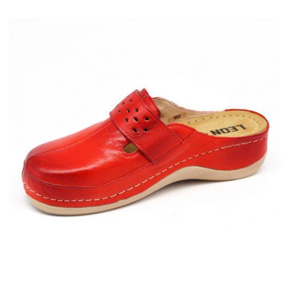 Leon Comfort női papucs-902 Piros
