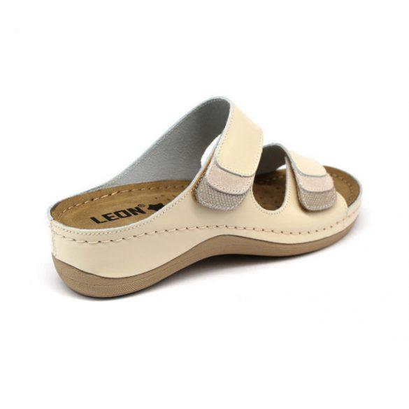 Leon Comfort női papucs-904 Bézs