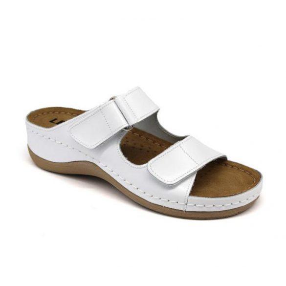 Leon Comfort női papucs-905 Fehér