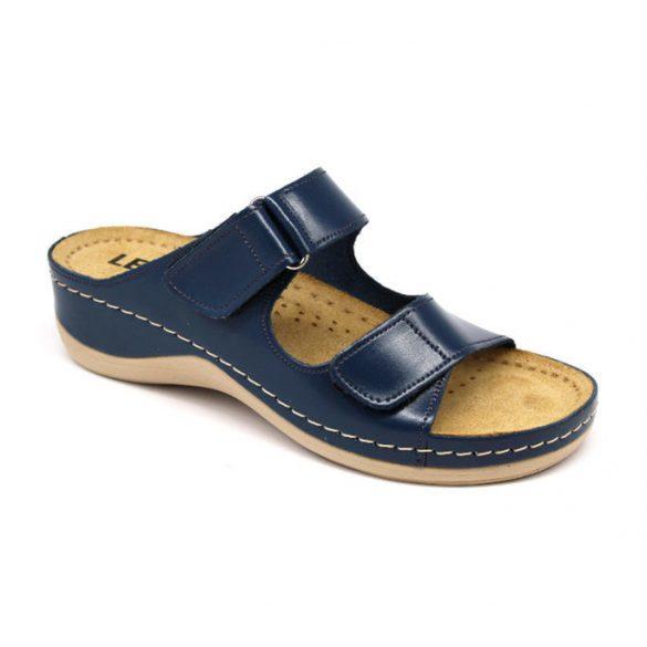 Leon Comfort női papucs-905 s.kék