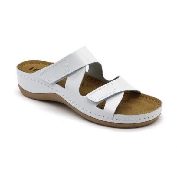 Leon Comfort női papucs-906 Fehér