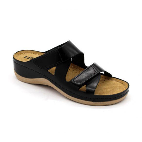 Leon Comfort női papucs-906 Fekete
