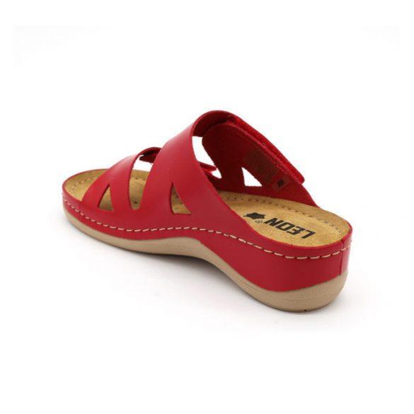 Leon Comfort női papucs-906 Piros