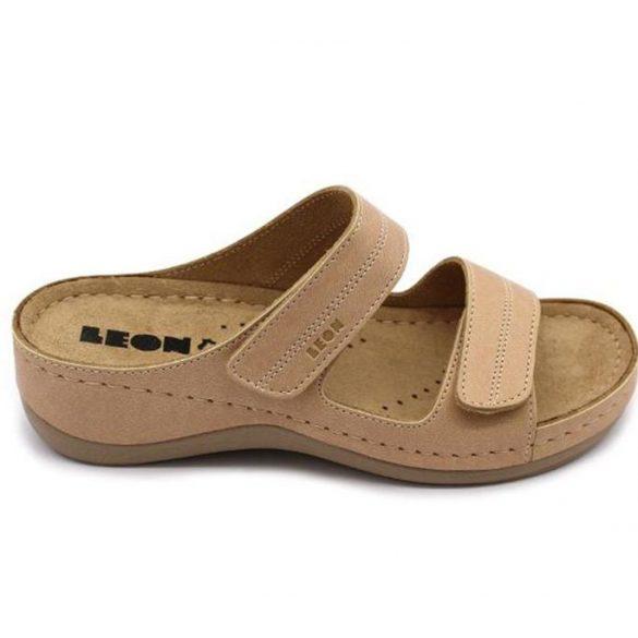 Leon Comfort női papucs-907 bézs