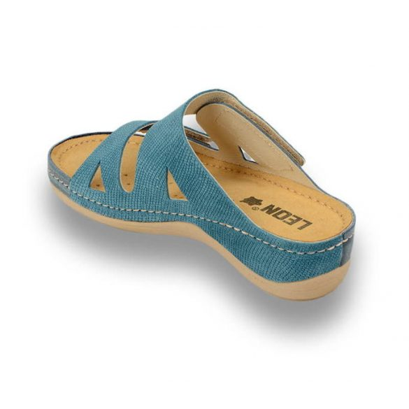 Leon Comfort női papucs-907 Kék