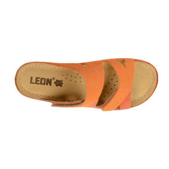 Leon Comfort női papucs-907 Narancs