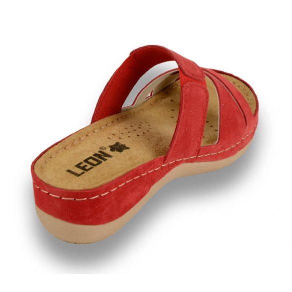Leon Comfort női papucs-909 Red