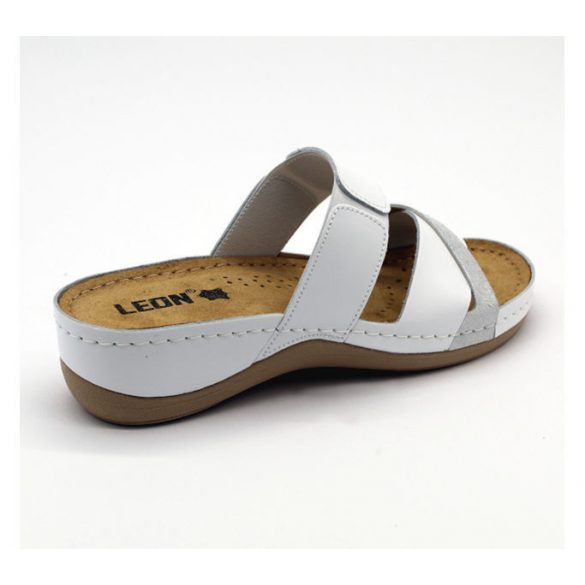 Leon Comfort női papucs-909 White