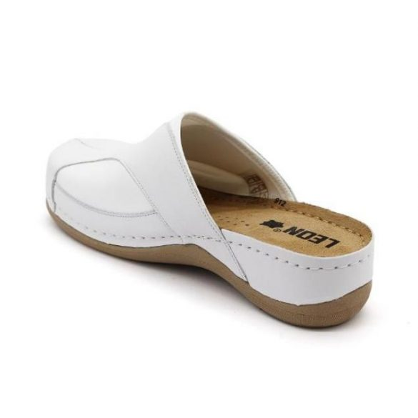 Leon Comfort női papucs-912 Fehér